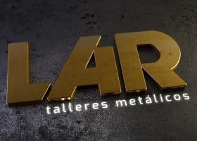 Logo metal Talleres Lar